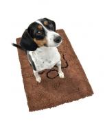 dog;door-mat;sitting-dog;jack-terrier;obedient;waiting