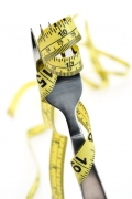 fork;obesity;weight;over-eating;tape-measure;weight-loss;weight-control;fitness;health;nutrition;portion-control;eating;diet;dieting