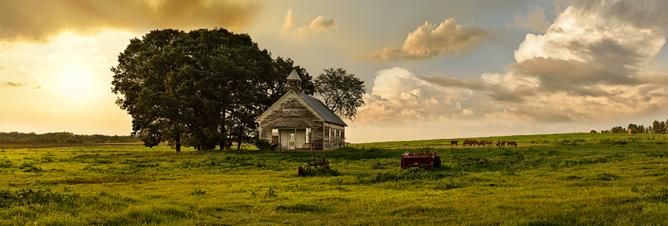 Fine Art: District 135 School House